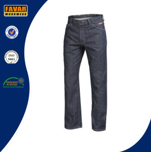 Fire Resistant Classic Fit Mens Denim Jeans