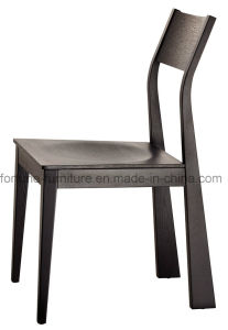 Solid Wood Black Dining Chair Dining Chair (I&D-80121)