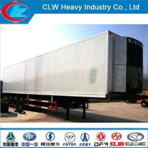 35-50tons Cooling Van Trailer/Refrigerated Trailer of Rice pictures & photos