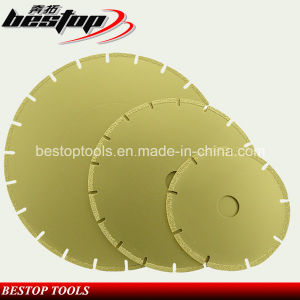 Vacuum Brazed Diamond Dry Cutting Saw Blade for Stone pictures & photos