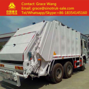 China High Quality 20 Cbm Sinotruk HOWO Compression Container Garbage Truck pictures & photos