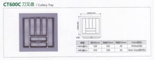 Plastic Cutlery Tray, Plastic Vacuum Formed Tray pictures & photos