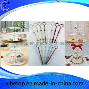 Zinc Alloy 2 or 3 Tiers Cake Stand pictures & photos