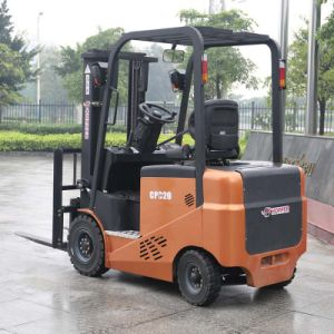 Marshell 2000kg 4-Wheel New Battery Operated Electric Forklift (CPD20E) pictures & photos