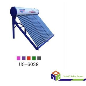 Compact Pressurized Solar Water Heater (UG-6038) pictures & photos