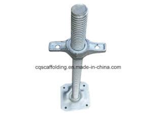 Adjustable Solid Screw Base Jack for Scaffolding System (CQG)