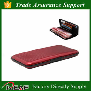 RFID Blocking Credit Card Holder Big Aluma Wallet pictures & photos