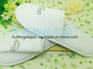 Factory Direct Disposable Hotel Slippers Printing Logo
