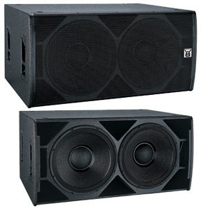 Cvr Dual 18 Inch Night Club DJ Sub-Bass Speaker (T-182) pictures & photos