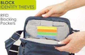 Block Identity Thieves/RFID Blocking Pockets Package pictures & photos