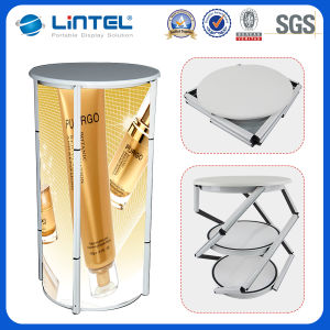 Lintel Hot Sale Aluminum Promotion Table Portable Folding Table (LT-07A) pictures & photos