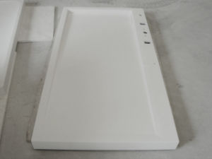 Custom Solid Surface Acrylic Shower Tray pictures & photos