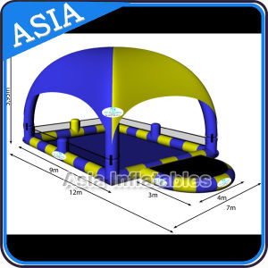 Popular Inflatable Pool with Tent Roof for Water Ball Rental pictures & photos