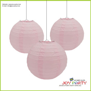 Light Pink Paper Lantern for Wedding pictures & photos