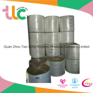 Newest Products Hot Air Nonwoven Spunlace Fabrics for Baby Diaper Topsheet pictures & photos