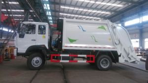 Heavy Duty HOWO 6X4 8tons Garbage Truck 10tons Garbage Compactor Truck pictures & photos