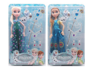 18 Inch Plastic Fashion Toy Frozen Doll (H9538157) pictures & photos