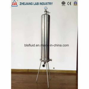 Sanitary Stainless Steel Microporous Membrane Filter pictures & photos