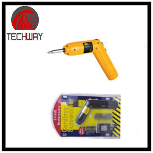 Cordless Screwdriver with 15PCS Blister Cark Packing pictures & photos