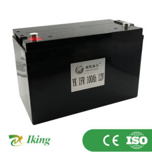 OEM Factory Sale 12V 100ah Deep Cycle LiFePO4 Litium Ion Battery Pack for Data Center Solar Wind Turbine Security System