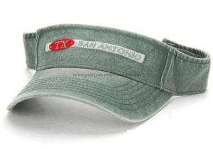 Customized Denim Sun Cap/Visor, Sports Sun Hat pictures & photos