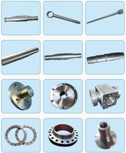 Custom Made Shaft Mechanical Parts CNC Machining Steel Forging Shaft pictures & photos
