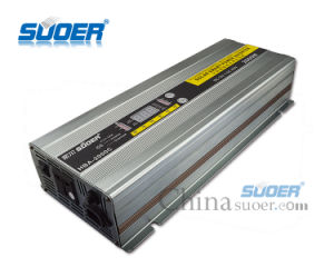 Suoer 12V 220V 2000W off-Grid Inverter with Battery Charger (HBA-2000C) pictures & photos