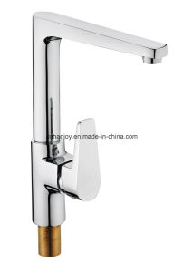 New Model Deck Mounted Single Handle Sink Kitchen Faucet (H02-103S) pictures & photos