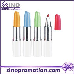 Cute Marker Pen Lipstick Style Funny Highlighter