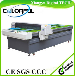 Universal Digital Flatbed Printer Cloth Digital Printing Machine (Colorful 1325) pictures & photos