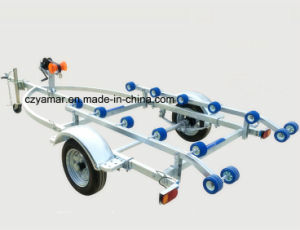4.1m Jet Ski Trailer with Rollers pictures & photos