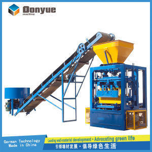 Vibrate and Electric Model Concrete Block Making Machine Qt4-24 pictures & photos