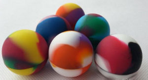 Rubber Ball Wax Container pictures & photos