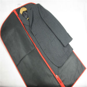 Custom Printed PP Suit Bag, Non Woven Garment Bag (MECO127) pictures & photos