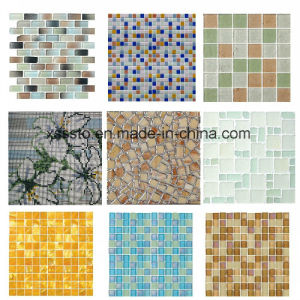 Mixed Customized Marble Mosaic Tile for Kitchen/Bathroom Wall pictures & photos