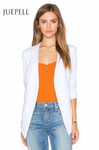 White Suit Office Women Jacket pictures & photos