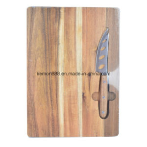 Cheese Board with 4 Holes Knife (65031)