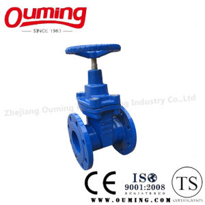 DIN Stainless Steel Flanged Gate Valve with Handwheel pictures & photos