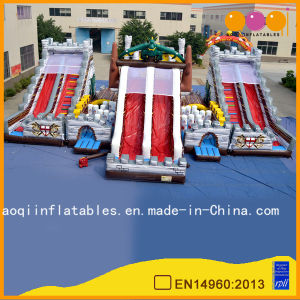 Giant Inflatable Dragon Slide Inflatable Funcity for Promotion (AQ01162) pictures & photos
