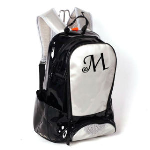 Shiny PU Leather School Bag for High School Students pictures & photos