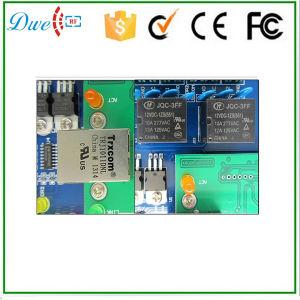 TCP IP Double Door Access Controller Supports 2 Doors 4 Readers pictures & photos