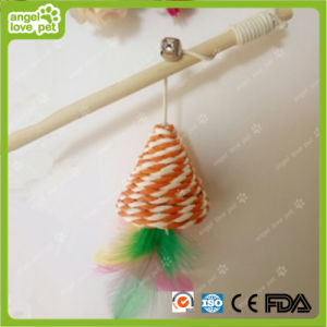 Double Color Tease Rod Pet Product Cat Toys pictures & photos