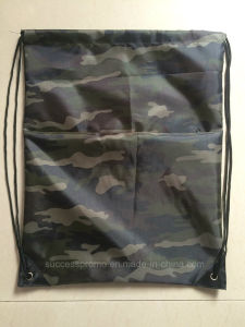 Custom Drawstring Bag, Backpack in Camouflage Color pictures & photos