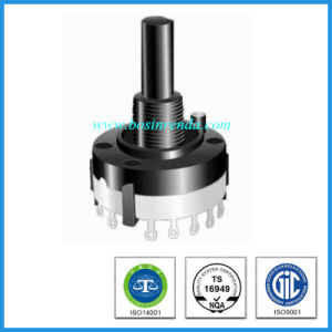 Low Price Special 26mm Plastic Shaft Rotary Route Switch pictures & photos