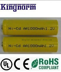 1.2V 1000mAh AA NiCd Battery Cell pictures & photos