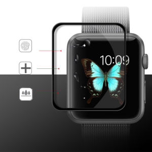 Latest Design 9h Anti-Impact Waterproof Tempered Glass Protective Film for Iwatch From Professional Factory pictures & photos