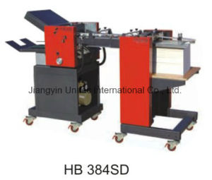 Hot Sale Products Leather Paper Auto Feeder Folder Machine Hb 384SD pictures & photos