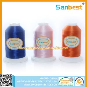 Colorful 100% Polyester Embroidery Thread 150d/2, pictures & photos