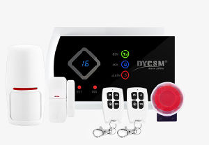 Wireless Home Alarm LCD APP GSM Alarm System Kit pictures & photos