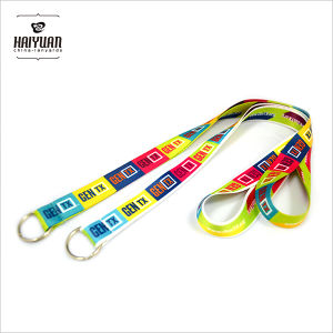 Special-Purpose Dye Sublimation Lanyards for Marathon Game pictures & photos